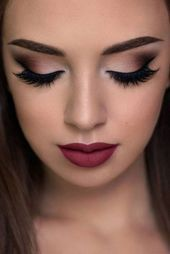 52 Best Gorgeous and Trendy Brown eyes Makeup Design for Prom or Party 💋 – Pa…