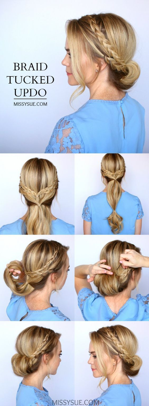 15 Easy Prom Hairstyles for Long Hair You Can DIY At Home   Detailed Step by Step Tutorial – Sun Kissed Violet