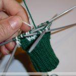 Gestrickte Socken: Norwegermuster stricken