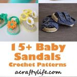 Adorable Summer Baby Shoes Crochet Patterns