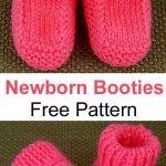 Newborn Booties - Free Pattern