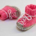 Strickanleitung - Babymütze, Babyschuhe, Babyschal - OMBRÉ - No.163S