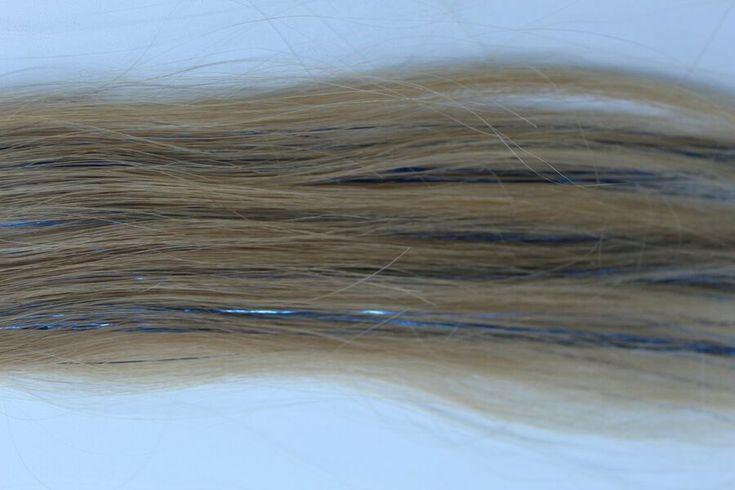 Tape-in Haar Lametta Extensions  Stylisten Trend  Holen Sie sich stecken-on Spar…