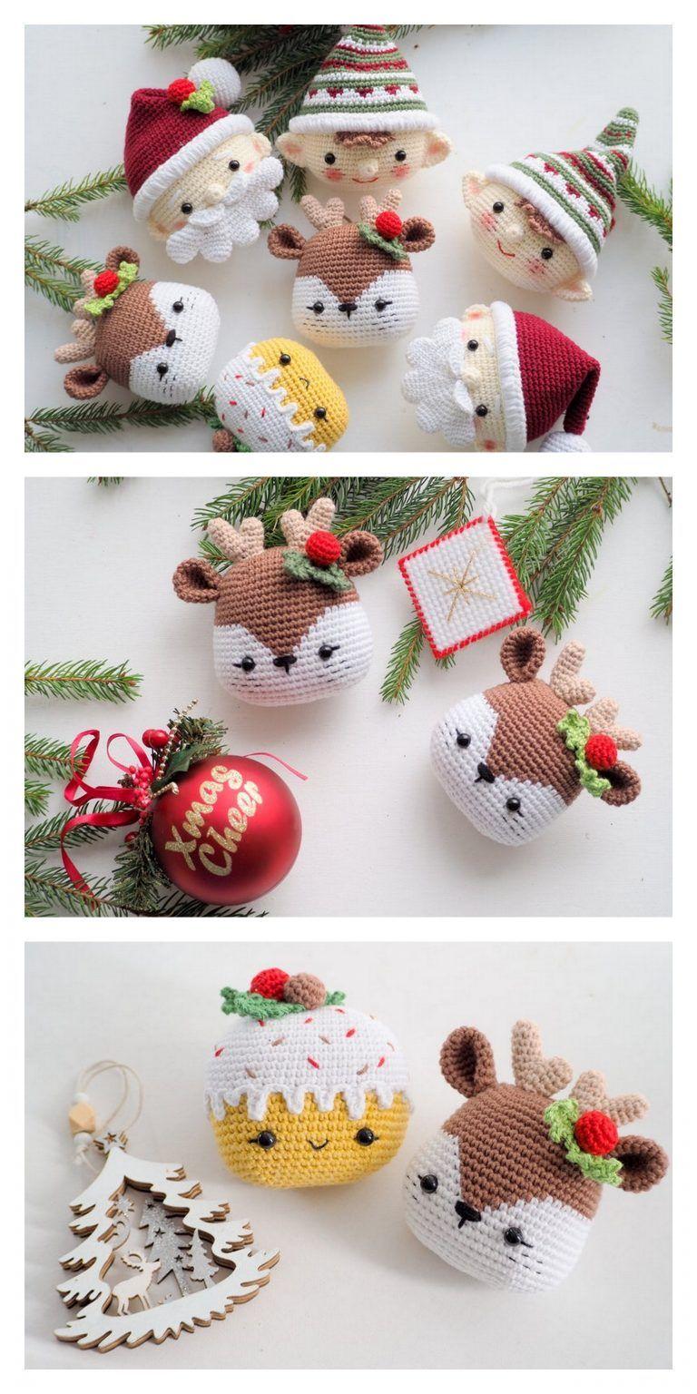 Amigurumi Christmas Reindeers Free Pattern – Amigurumi Free Patterns And Tutor…