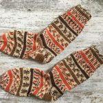 Gestrickte Socken Gr. 40-42 *handmade*  | eBay