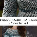The Avary Sweater - Free Crochet Pattern