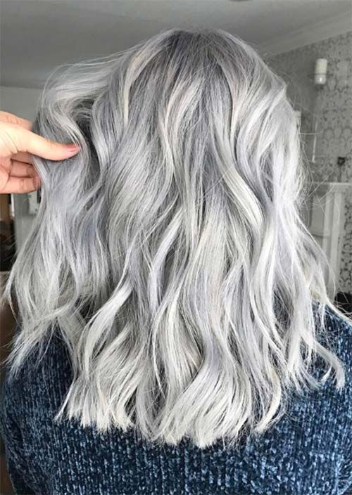 Silver Hair Trend: 51 Cool Grey Hair Colors & Tips for Going Gray