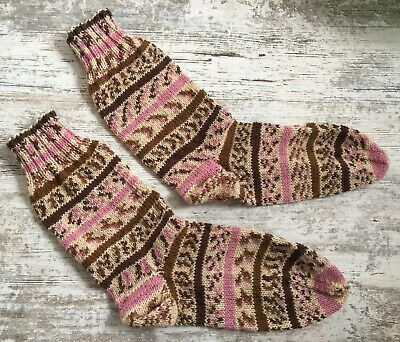 Gestrickte Socken Gr. 40-42 *handmade*    eBay
