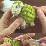 Crochet Cute Puff Sheep