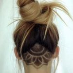 Undercut Haircut Fashion bei Frauen -