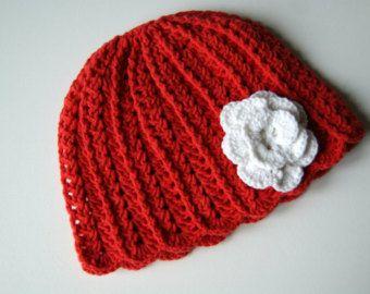 Newborn Hat Crochet, Baby Crochet Hat, Baby girl hat, crochet hat newborn, Pink Baby Hat, Newborn beanie