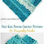 Free Kids Poncho Crochet Patterns