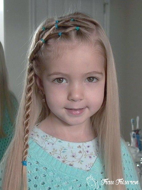 17 super süße Frisuren für kleine Mädchen