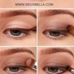 Ein einfaches natürliches Augen-Makeup, das jeder tun kann. Schritt für Schritt Augen-Make-up-Anleitung. Diese Seite