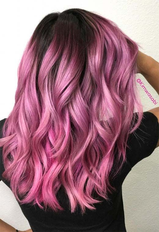 55 Lovely Pink Hair Colors: Tips for Dyeing Hair Pink