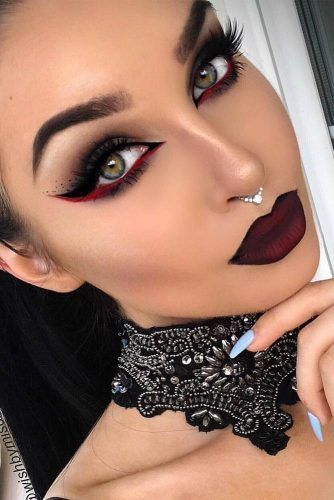 10 ideas sexys de maquillaje para Halloween