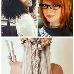 17 Atemberaubende lockige Frisuren weben Afro #lockigeFrisuren #Afro #atemberaub...