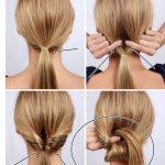 18 Hochsteckfrisuren Kurze Haare Selber Machen