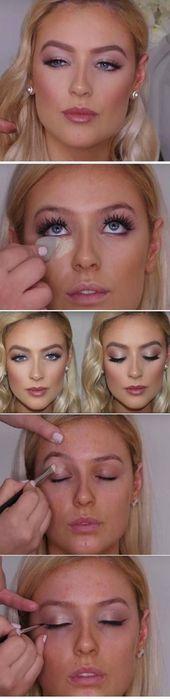 18+ Ideen Hochzeit Make-up Natürliche Braut Make-up Wieder 2019 – #braut #gut #…