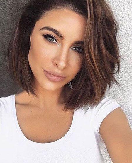 18 beliebte kurze brünette Frisuren | Kurze Frisuren 2017 – 2018 – New Site