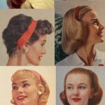 1950s Hairstyles with Headbands - LastStepPin