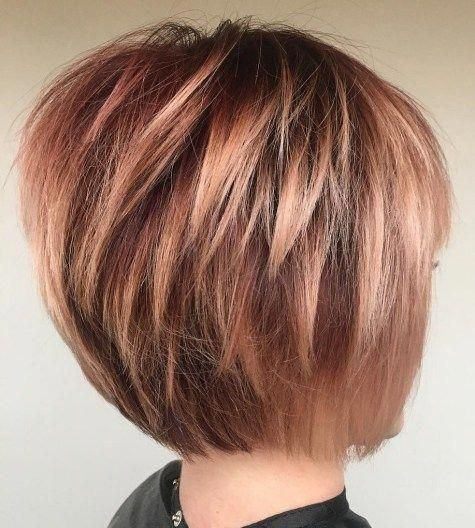 #2: Tousled Blonde Bob Keeping the ends of your cut uneven with shorter blunt ed…