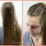 2 holländische Zöpfe - 5 verschiedene Frisuren #twoBraided - #frisuren #hollan...