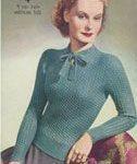 20 1940er Jahre Damen Pullover Vintage Strickmuster   İdeen ,  #1940er #damen #...