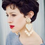 20 Gorgeous Wavy and Curly Pixie Hairstyles: Short Hair Ideas