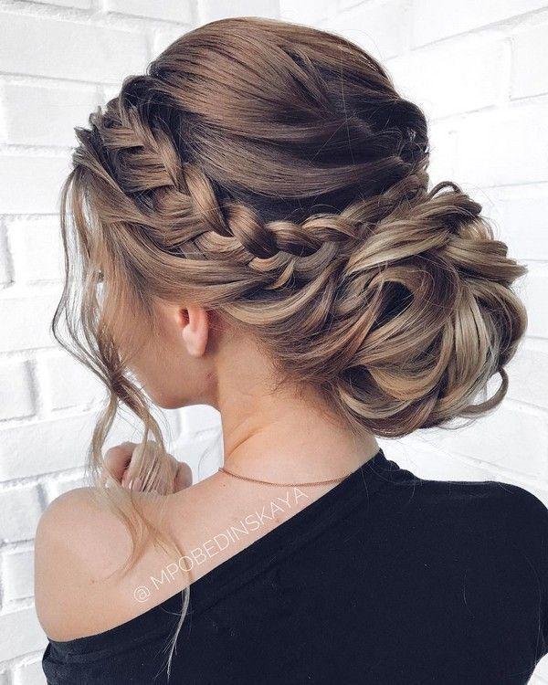 20 Long Wedding Hairstyles and Updos from mpobedinskaya – Steckfrisur – #Hairsty