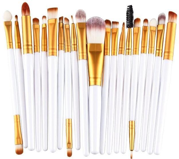20 Pc Stern Makeup Brush Set – 6 Colors