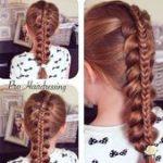 20 geflochtene süße Frisuren für Mädchen - Peinados #geflochtene Frisuren .....