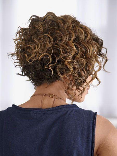 20 kurze Bob Frisuren für lockiges Haar