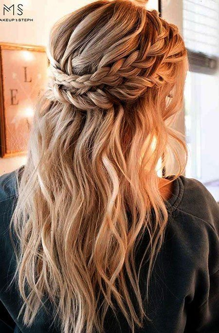 20 süße einfache Frisuren für langes Haar