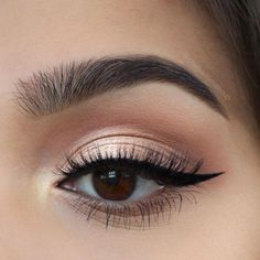 2018 Brown Eye Makeup