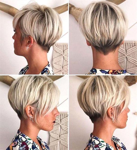 2018 Kurze Frisur (7) – Frisuren Stil Haar #PixieHair – Manue dsz  #
