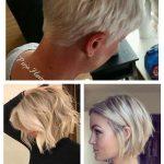 2019 Kurze Frisuren für ältere Frauen mit dünnem Haar #FrisurenfrdnnesHaarfei...