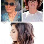 2019 Kurze Frisuren für ältere Frauen mit dünnem Haar #kurzefrisureneinfach #...