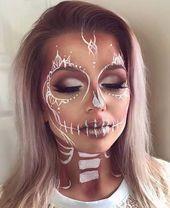 21 unique Halloween Makeup Ideas from Instagram #einzig …- 21 einzigartige Hal…