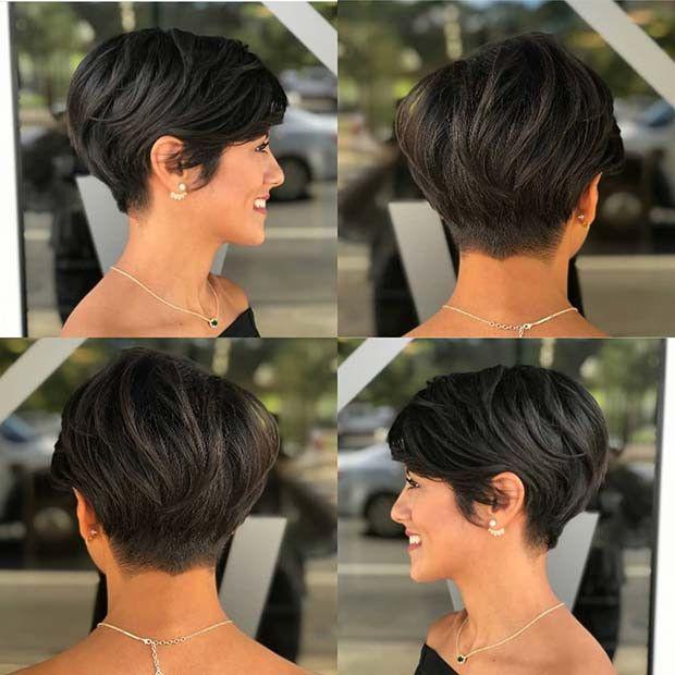 23 Kurze Haarschnitte für Frauen 2019 kopieren