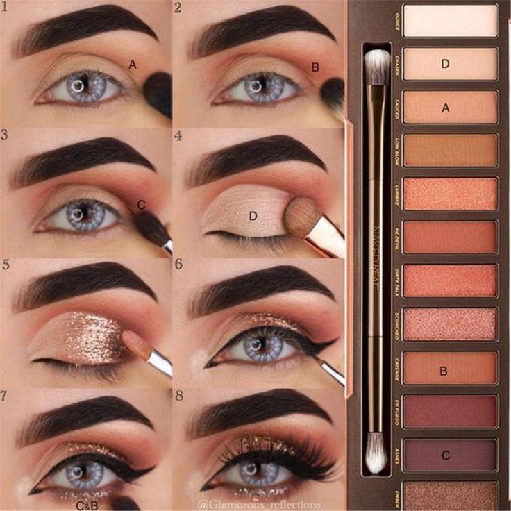 23 Natürliches Smokey Eye Make-up macht Sie brillant – FİTNESS WORKOUTS