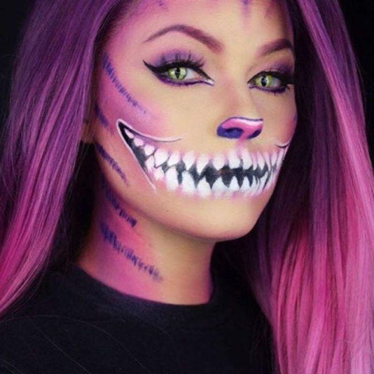 23 niedliche Make-up-Ideen für Halloween 2018 – Frisurenx.site