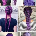 24 Inspirational Ideas To Braid Your Purple Hair