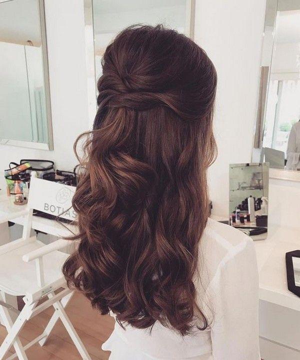 25 Amazing Half Up Half Down Wedding Hairstyles – ChicWedd