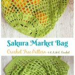 25 Crochet Market Bag Free Patterns