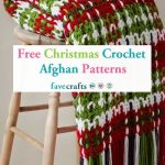 25 Free Christmas Crochet Afghan Patterns