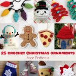 25+ Free Patterns of Crochet Christmas Ornaments