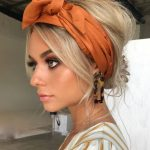 25 Ideas of How to Wear Hair Scarf
