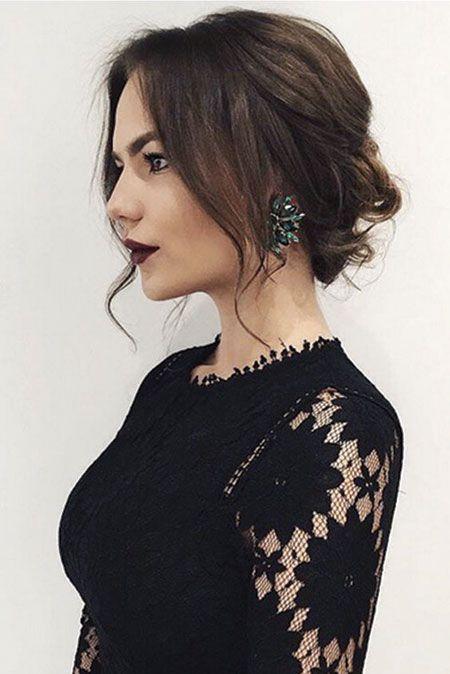 25 Prom Frisuren für kurzes Haar – Einfache Frisur