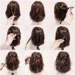 25 schnelle Frisuren für mittlere und lange Haare für jeden Tag.